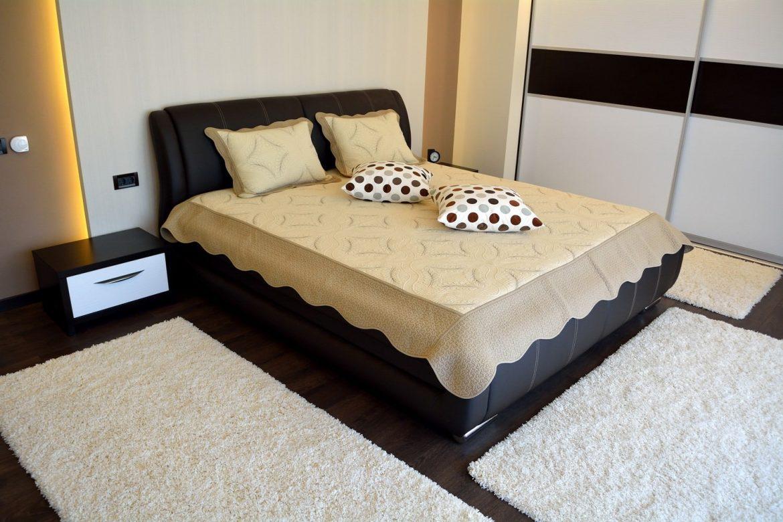 Dormitor Matrimonial Wenghe Dakar si Alb W1000ST20