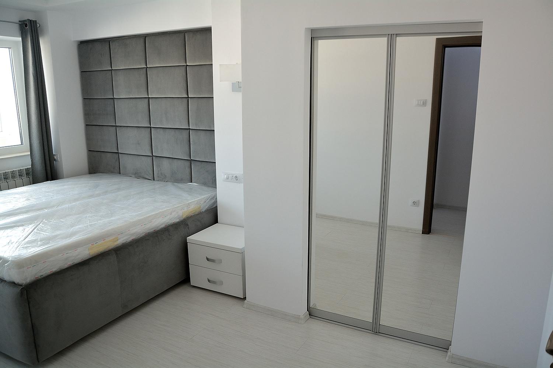 Dormitor realizat pe comanda in 3 piese dressingpat si noptiere 1