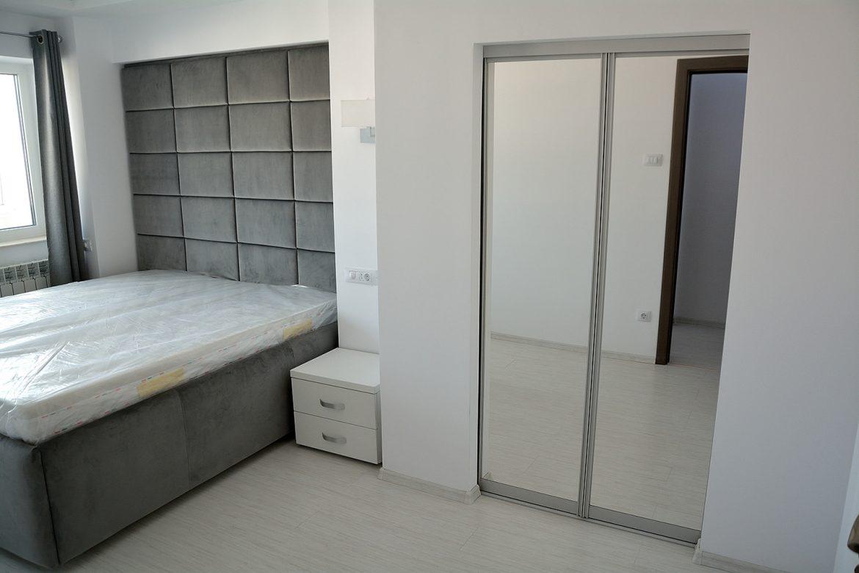 Dormitor realizat pe comanda in 3 piese dressingpat si noptiere