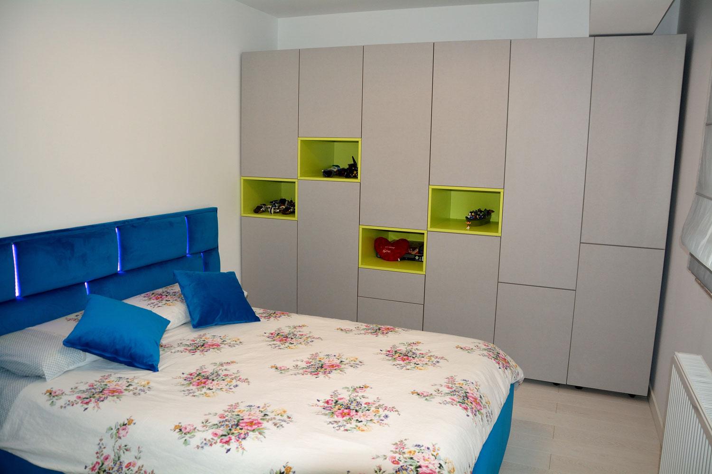 Dormitor tineret la comanda din pal00009