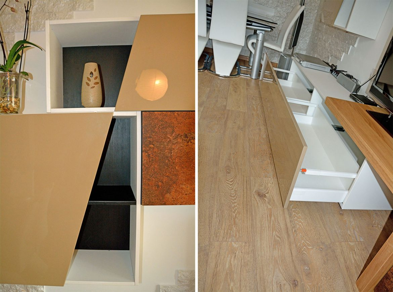 mobilier-modern-pentru-living-realizat-din-mdf-infoliat-piatra-maro-cu-fronturi-mdf-vopsit-lucios-capucino-ral-1019-suport-tv-din-lemn-masiv-stejar-natur-sertare-silentioase-si-balamale-blum