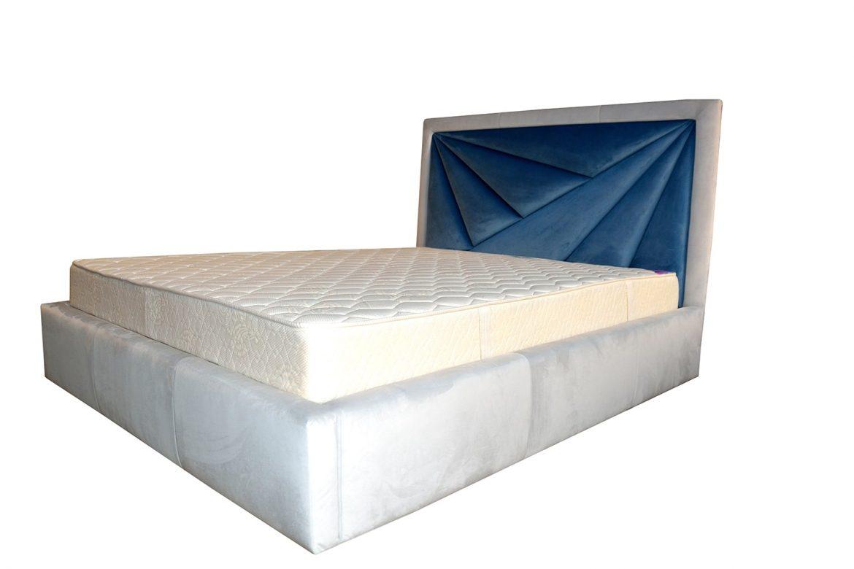 Cadru pat tapitat 160 modern Sole realizat din pal hidrofugat capitonat cu burete de 50 mm min 1
