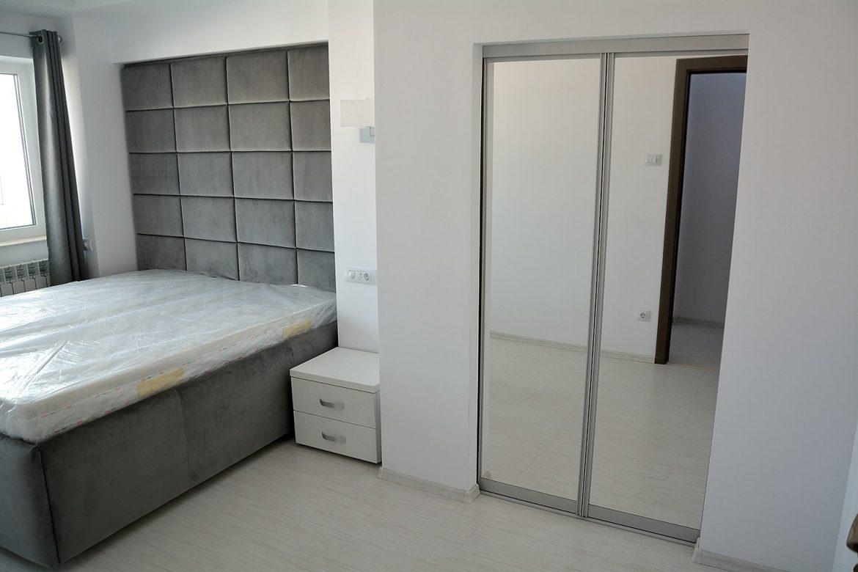 Dormitor realizat pe comanda in 3 piese dressing pat si noptiere pe dimensiunea dorita de client min
