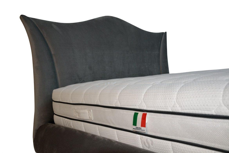 Model elegant de tablie pat tapitat cu lada de depozitare si sistem de prindere a patului prin coltare min 1