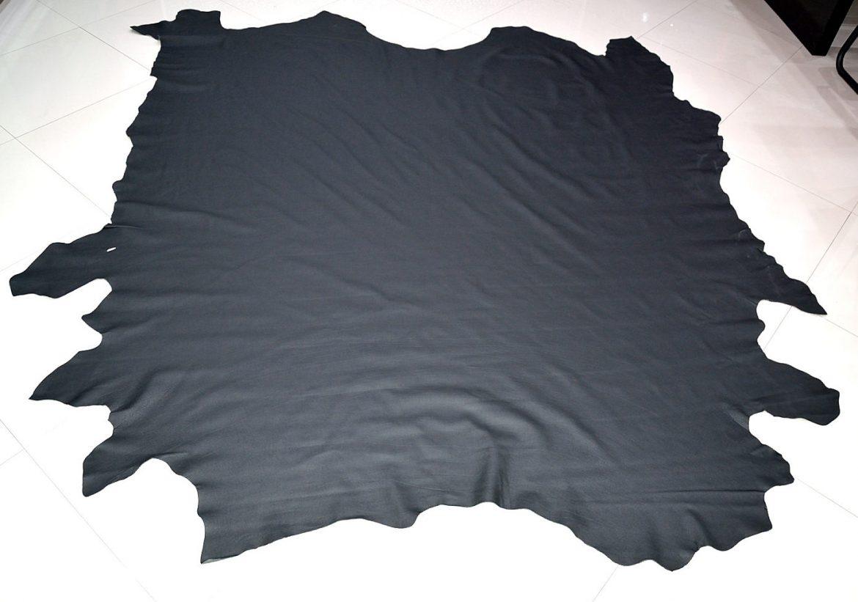 Piele naturala de Bovina de culoare Neagra