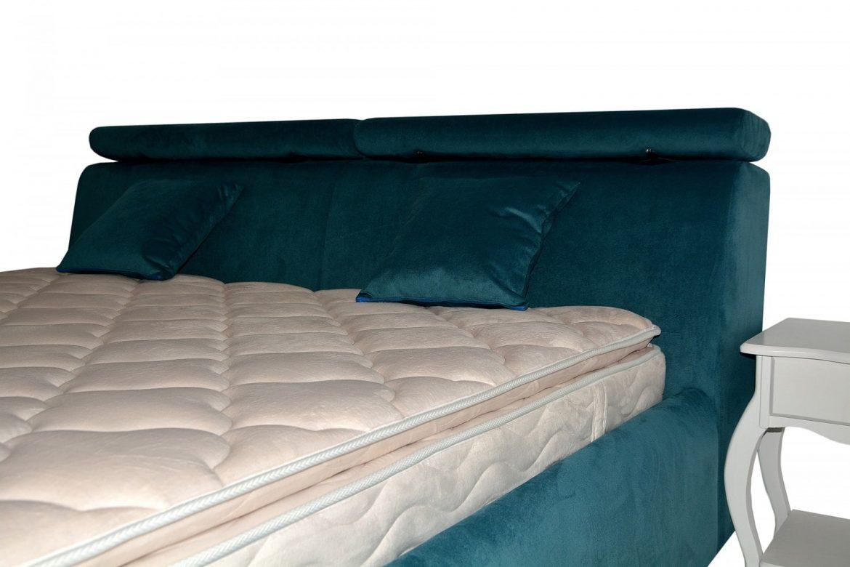 Tablie pat Padova accesorizata cu doua tipuri de perne mobile min