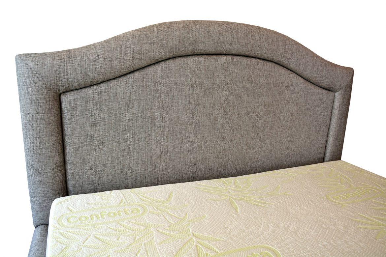 Testiera 160 de pat tapitat cu stofa gri model valencia si cu posibilitate de a pune butoni imbracati sau cristale swarovski min