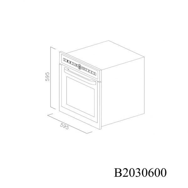 B2030600 Cuptor