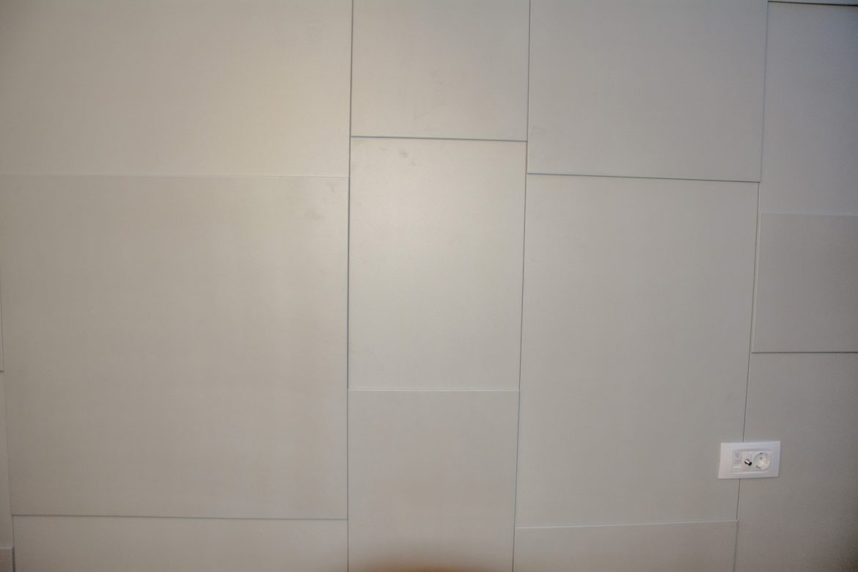 detali placare perete cu mdf de 18 mm cu 6mm peste