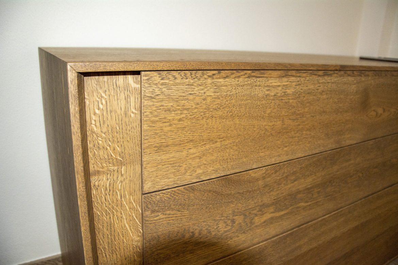 detali frezare front din lemn masiv stejar