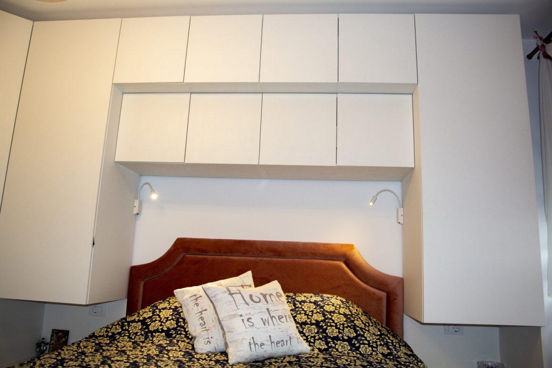 dormitor din pal alb fibros yulmob bacau