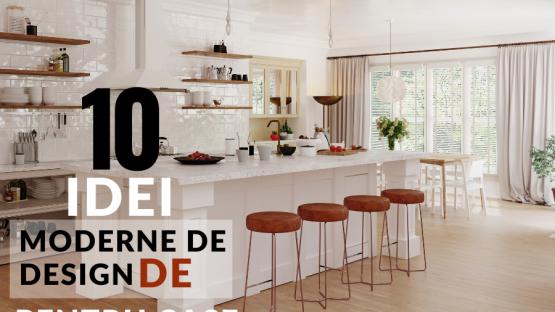 10 Idei Moderne De Design De Mobilier De Bucatarie Pentru Case